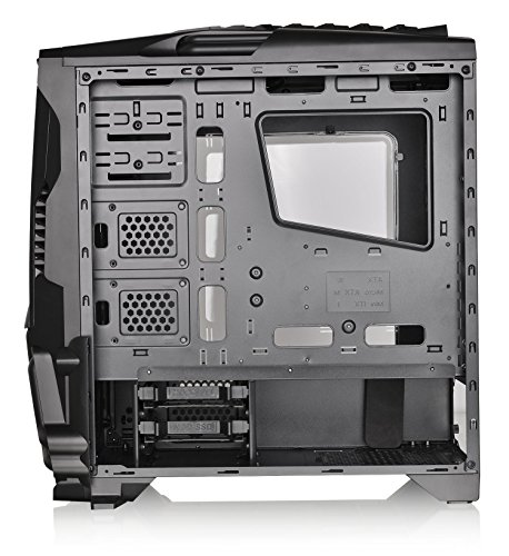 Thermaltake Versa N24 Black ATX Mid Tower Gaming Computer Case Chassis with Power Supply Cover, 120mm Rear Fan preinstalled. CA-1G1-00M1WN-00 by Thermaltake (Image #9)