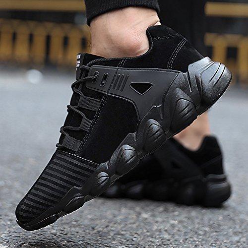 Hibote Chaussures de Basketball Pour Hommes | Chaussures de Course à la Mode | Bottes Antidérapantes | Chaussures de Course Formateurs Pour Multi Sport Fitness Athlétique Jogging