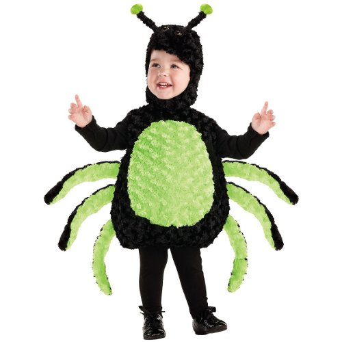 Girls Little Miss Spider Costumes (Underwraps Carnival Corp. - Spider Child Costume - 4-6)