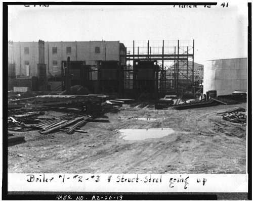 Photo: Crosscut Steam Plant,Tempe,Maricopa County,Arizona,AZ,HABS,Mill - Az Mills Tempe Arizona