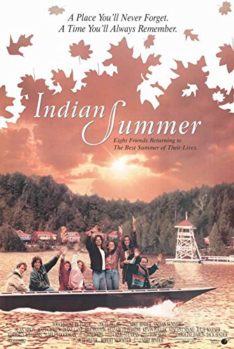 Indian Movie Poster - Indian Summer Poster Movie 11x17 Alan Arkin Matt Craven Diane Lane Bill Paxton