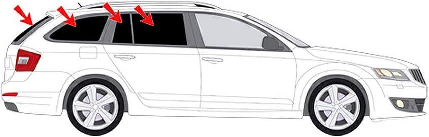 Solarplexius Auto Sonnenschutz Scheiben Tönung Passgenau Für Skoda Octavia Iii Typ 5e Kombi Bj 13 20 Keine Folie Komplettsatz Auto