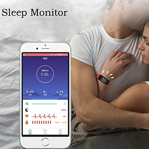 Amazon.com : F1 Fitness Activity Tracker Watches Blood ...