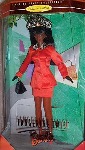 Edition Collectors Twist (Tangerine Twist BARBIE AA Doll - Collector Edition Fashion Savvy Collection by Kitty Black Perkins (1997) by Tangerine Twist Barbie Doll, Collector Edition Fashion Savvy Collection)