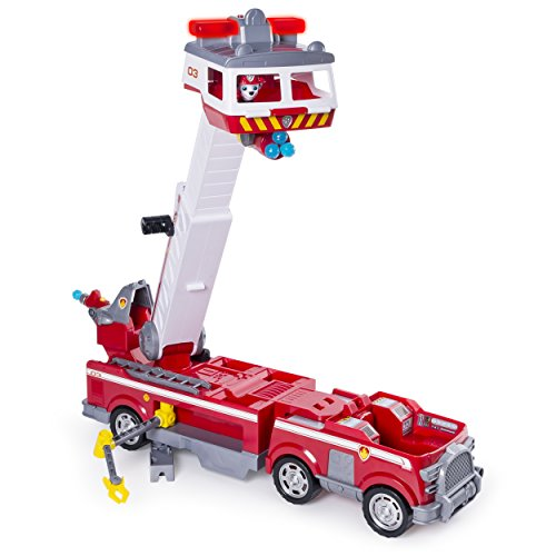 PAW Patrol - Ultimate Rescue Fire Truck with Extendable 2 ft. Tall Ladder, for Ages 3 and Up by Paw Patrol (Image #5)