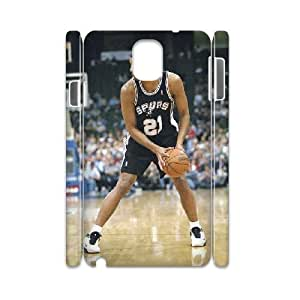 3D Yearinspace Tim Duncan Samsung Galaxy Note 3 Cases the SAN Antonio Spurs Fans Cheap for Girls, Samsung Galaxy Note 3 Case for Women Cheap for Girls [White]