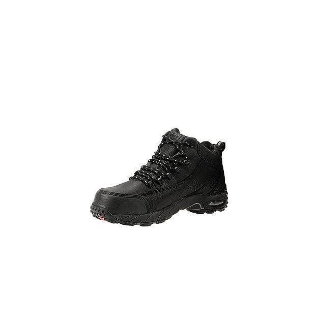 Reebok Mens Black Leather Work Shoes Postal Express Goretex Oxfords 12 W   Amazon.co.uk  Shoes   Bags 99d91222045c