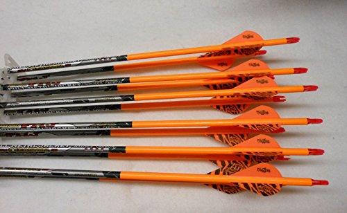 Easton ST Axis Full Metal Jacket Arrows w/Blazer Vanes Wr...