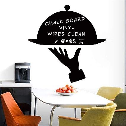 adesivo da muro Menu vassoio copertina lavagna per cucina ristorante ...