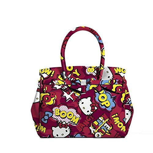 Petite Miss Comics Hello Kitty Limited Save Bag Borsa Red My twAxHTq