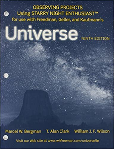 Book Observing Projects Workbook for Universe