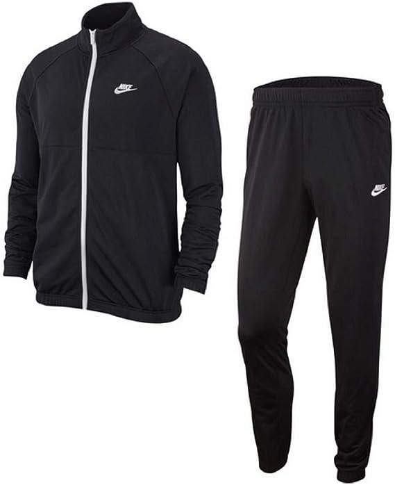 Nike Track Suit - Chándal Blanco/Negro XXL: Amazon.es: Ropa y ...