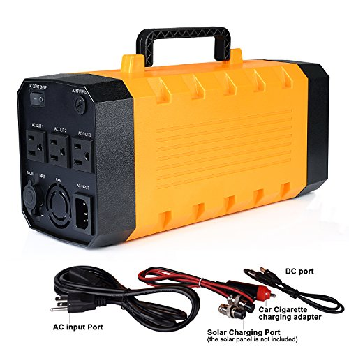 Backup-Portable-Generator-Solar-Power-Source-Power-Inverter-UPS-Power-Supply-Powerhouse-Charged-by-SolarAC-OutletCars-with-3-AC-4-DC-12V-4-USB-Ports