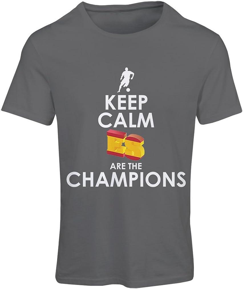 lepni.me Camiseta Mujer Españoles Son los campeones, Campeonato de ...