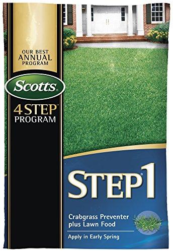 SCOTTS LAWNS 39181 Crabgrass Preventer Plus Fertilizer, 5m ()