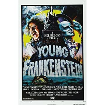 Amazon.com  Young Frankenstein Movie Poster 11x17 Master Print ... c483e8d44