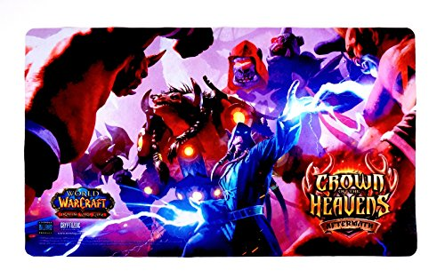 World of Warcraft Crown of the Heavens Playmat - WoW TCG CCG Play Mat