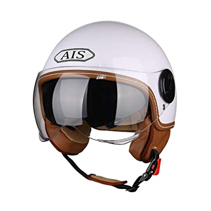 FTM® Medio Casco, Casco De Moto Para Hombre Y Mujer, Casco Universal Para