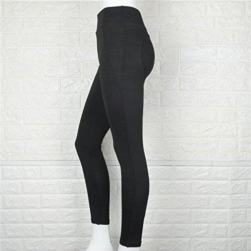Xuanytp Yogahosen Activewear Fitness Frauen Leggings Hohe Taille Elastische Workout Hosen Hüfte Herz Dünne Hosen Frauen Sport Leggings