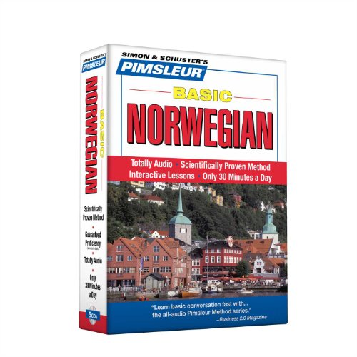 Pimsleur Norwegian Basic Course - Level 1 Lessons 1-10 CD: Learn to Speak and Understand Norwegian with Pimsleur Language Programs (1) (Norwegian Rosetta Stone)
