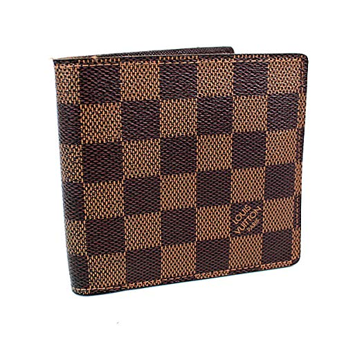 (ルイヴィトン) LOUIS VUITTON 二つ折り財布 ポルトフォイユマルコ ダミエ N61675 i830 [中古]   B07NJ9787F