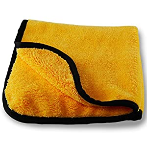 Chemical Guys MIC_506 Professional Grade Premium Microfiber Towels, Gold (16 in. x 16 in.)