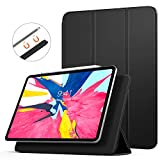 """TiMOVO Magnetic Smart Case for iPad Pro 12.9 Inch 2018, [Support Apple Pencil Pair & Charging] Strong Magnetic Attachment, Trifold Stand Case with Auto Sleep/Wake for iPad Pro 12.9"""" 2018 - Black"""