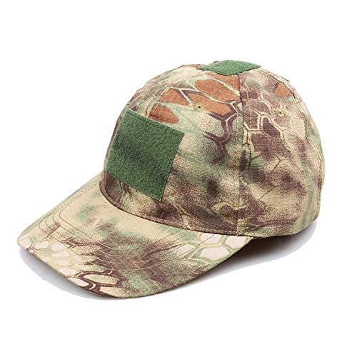 Outdoor Sport Snapback Camouflage Hat Simplicity Tactical Army Camo Hunting Cap Hat for Men Adult Cap
