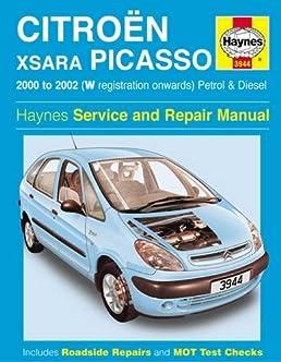 citroen xsara picasso haynes publishing 9781785210068 amazon com rh amazon com citroen c4 picasso workshop manual free citroen picasso repair manual pdf