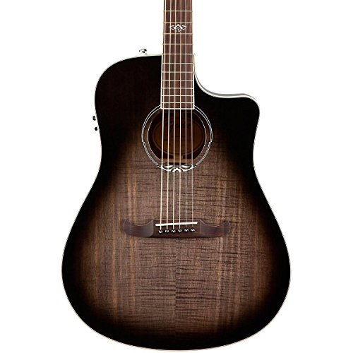 Fender T-Bucket 300 Acoustic Electric Guitar with Cutaway, Rosewood Fingerboard - Moonlight (Acoustic Guitar Gibson)