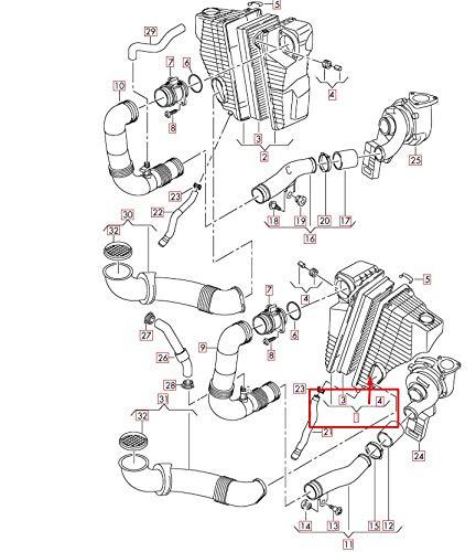 Q7 4L Air Filter Box 7L8128607C New Genuine: