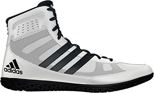 adidas Mat Wizard.3 Wrestling Shoes - White/Black - Mens - 10 by adidas