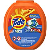 Tide PODS 3 in 1 HE Turbo Laundry Detergent Pacs, Original Scent, 81 Count Tub