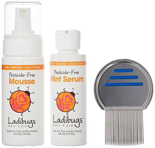 (Ladibugs Lice Elimination Kit, 3 Count)