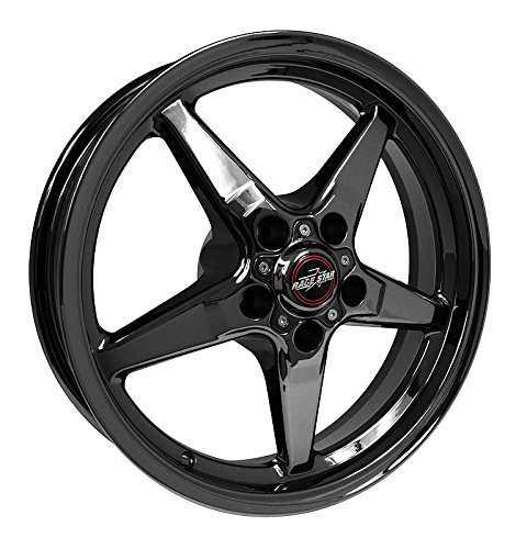 Race Star Industries 92-745242DSD Racestar Industries 92 Drag Star Dark Star Black Chrome ()