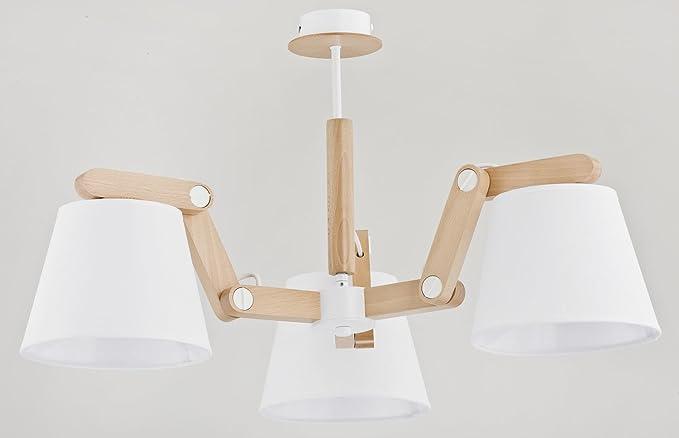 Ajustable Articulación - Lámpara de techo con 3 brazos ...