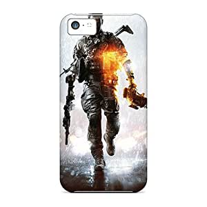 Hot Fashion GXInIEc7329yDfKK Design Case Cover For Iphone 5c Protective Case (battlefield 4 New)