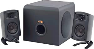 Klipsch ProMedia 2.1 THX Certified Computer Speaker System (Black) (Renewed)