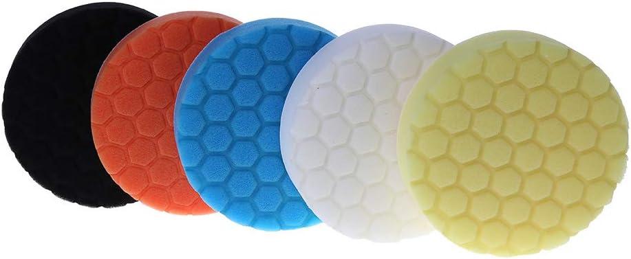 125 mm 5 pezzi Kit di tamponi lucidanti per auto