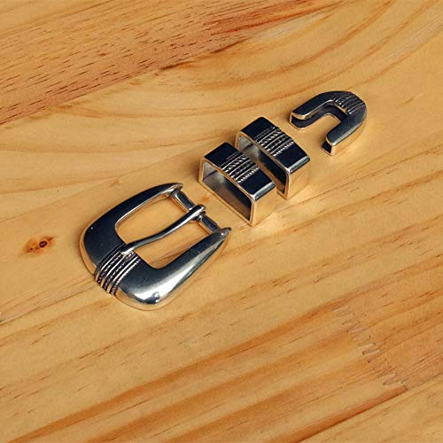 Buckes - DIY Leathercraft Hardware 1''(25mm) SRT American Western Rope Pattern Belt Buckle Set 903362S-25 (Best Rope For Srt)