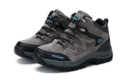 6c52de7791eba Amazon.com: LUCKY-U Men Hiking Shoes, Mens Running Shoes Breathable ...