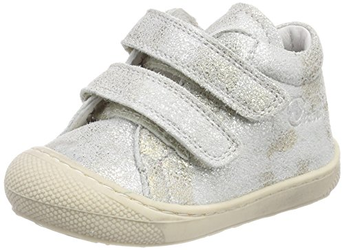 Naturino Baby Mädchen 3972 VL Sneaker Silber (Argento)