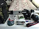 Canon EOS 7D 18MP CMOS Digital SLR Camera Bundle with Bag, Stand and Accessories