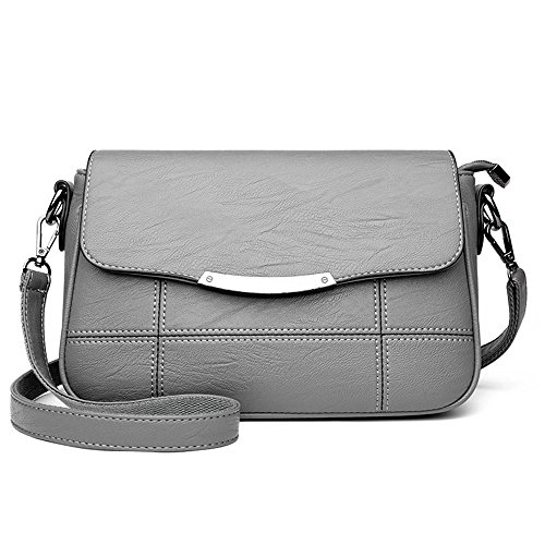 Meaeo Backpack Shoulder Bag Pure Simple Pleasure Of Middle-aged Mother All-match Practical Shoulder Bag, Gray Gray