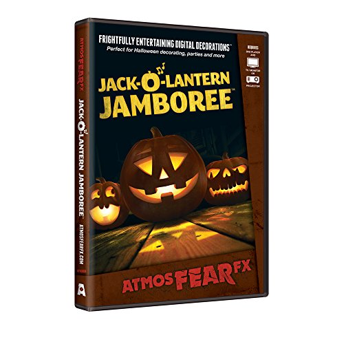 Atmosfearfx - Jack-O-Lantern Jamboree Digital Halloween Decoration | Halloween Prop -