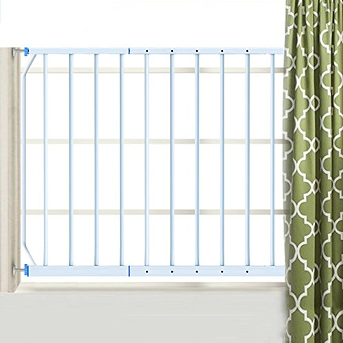 Window Guardrail Balcony Railing Children Fence Window High-Rise Protective Net Door,95-165cm, Height 77cm -