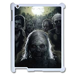 C-EUR Cover Case The Walking Dead customized Hard Plastic case For IPad 2,3,4