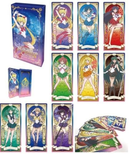 Sailor Moon Crystal 25th Anniversary Toei Official Licensed Limited Ed Tarot Cards Deck
