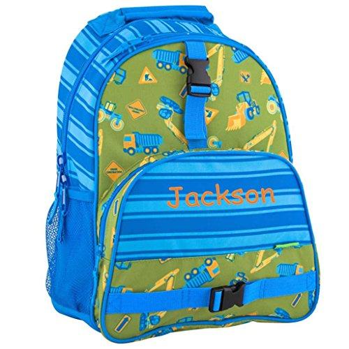 Personalized Trendsetter Backpack (Construction Trucks)