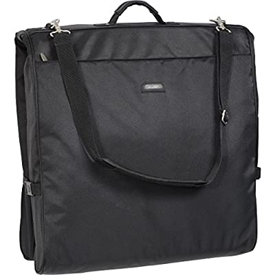 WallyBags 45 Inch Framed Garment Bag with Shoulder Strap from WallyBags